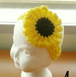 Other - Sunflower Baby Headband